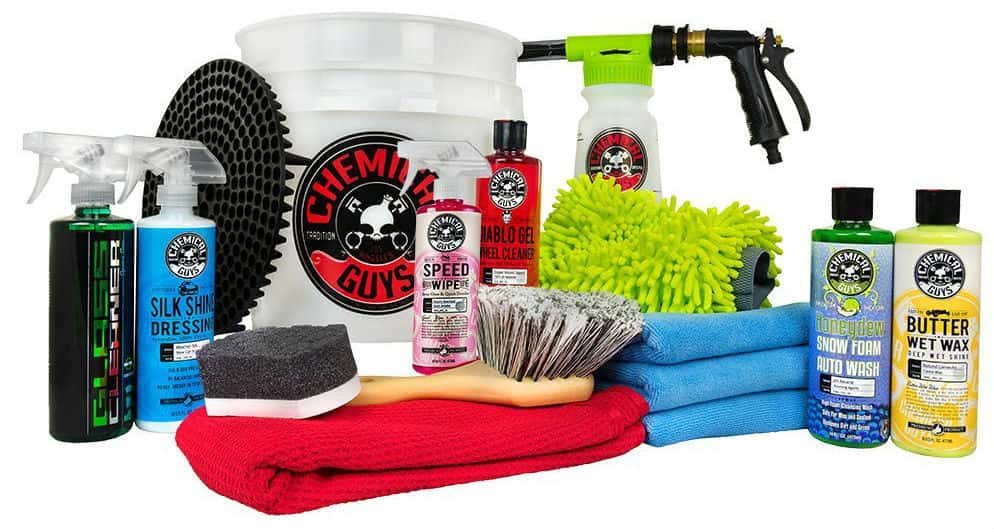 Chemical Guys HOL148 Car Wash Bucket Kit with Foam Blaster 6 Foam Gun