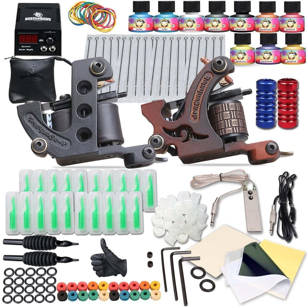 Best Tattoo Machine For Beginners – Cheap, Kits Review in 2019