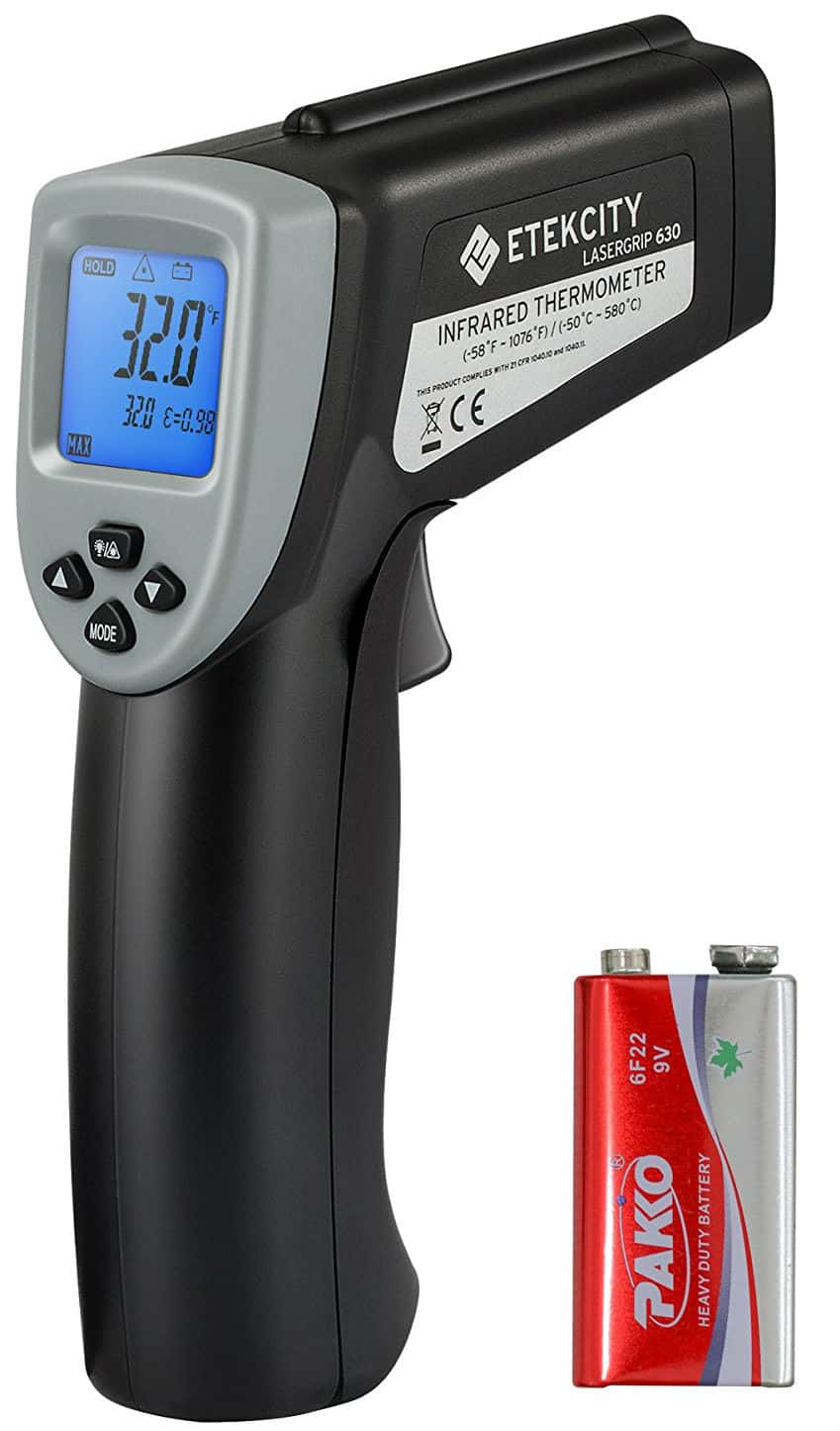 Etekcity Lasergrip 630 Dual Laser Digital Infrared Thermometer Non-contact Temperature Gun