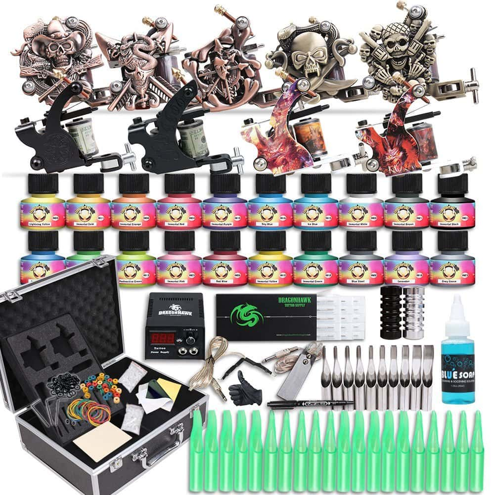 The 7 best tattoo machines for beginners cheap kits for Cheap tattoo kits amazon