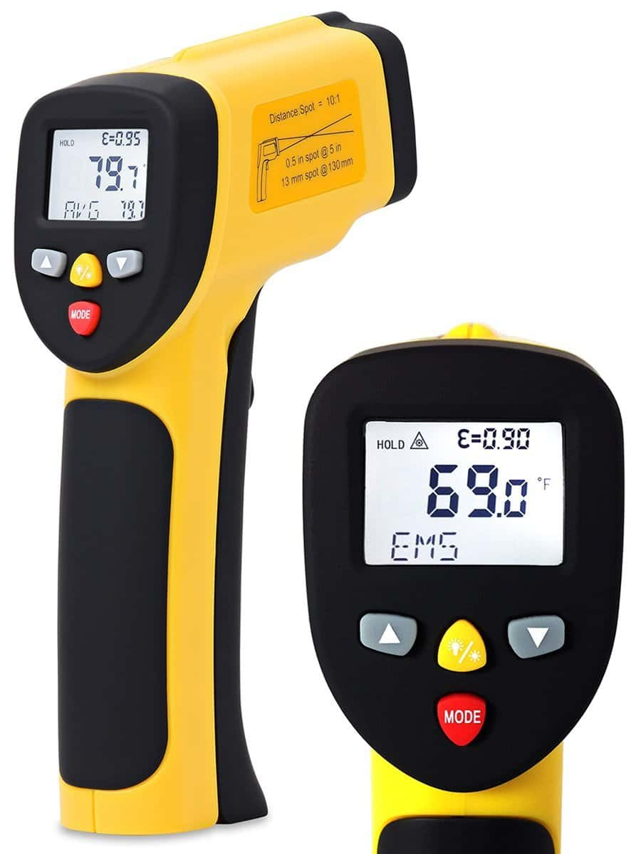 Temperature Gun ennoLogic Dual Laser Non-Contact Infrared Thermometer