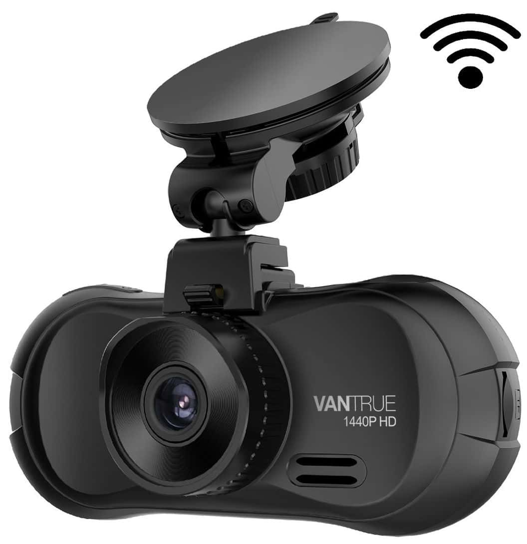 Vantrue X3 WiFi Dash Cam 1440P Car Dash Camera Super HD