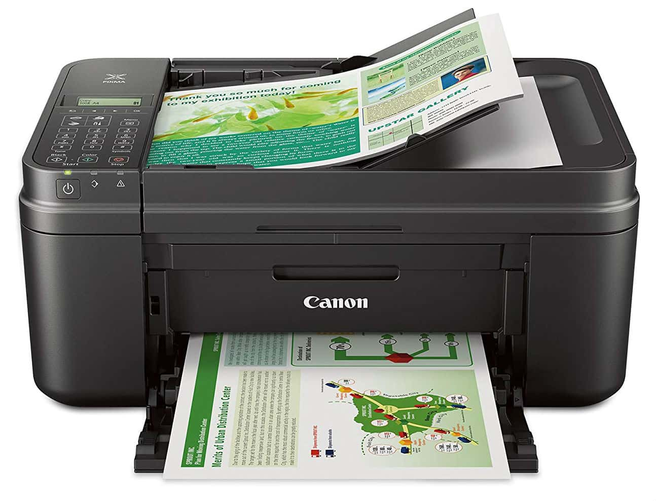 Canon MX492 Wireless All-IN-One Small Printer with Mobile or Tablet Printing