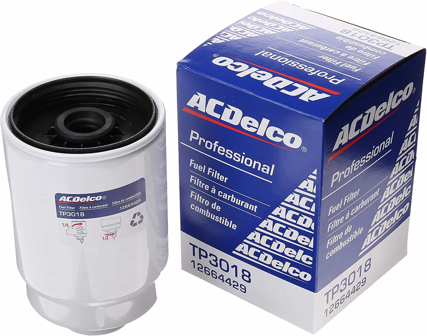 ACDelco_TP3018_Professional_Fuel_Filter_with_Seals